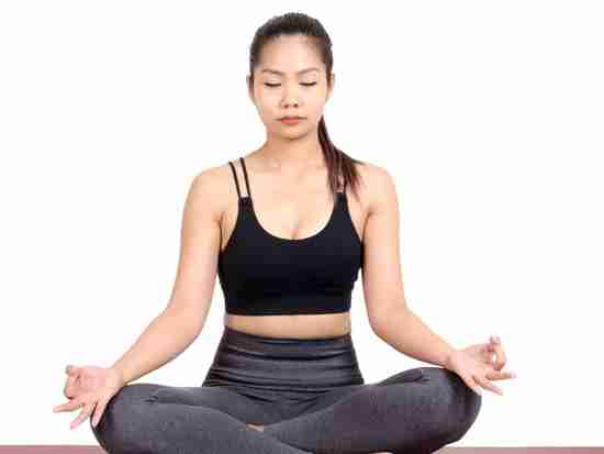 Anxiety treatment with yoga