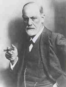 how did Freud treat depression
