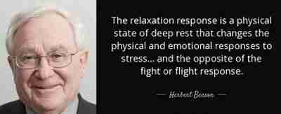 what is the relaxation response
